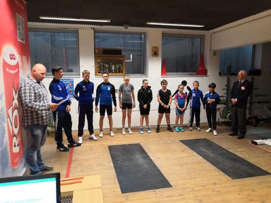 Preisverteilung 2. Runde Tiroler Schüler-u. Jugendcup