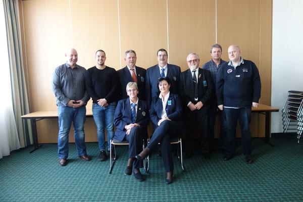 Teilnehmer Schiedsrichtertagung 2020