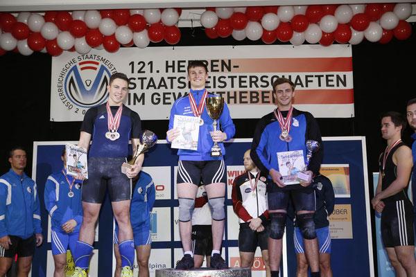 Ritzer Armin (KSC Bad Häring/Kufstein) (Siegerehrung Zweikampf)