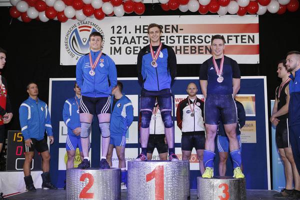 Ritzer Armin (KSC Bad Häring/Kufstein) (Siegerehrung Stossen)