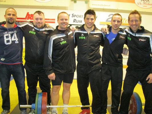 Mannschaft WKG AK Innsbruck/USC Dornbirn