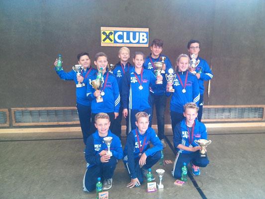 Nachwuchs KSV-Rum (Finalrunde Tiroler Schüler-u. Jugendcup 2015)