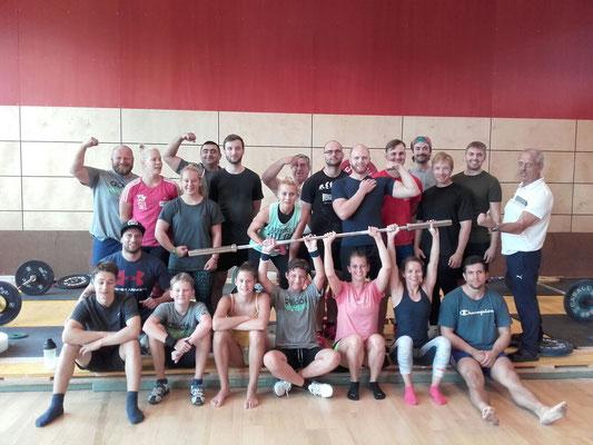 alle Teilnehmerinnen & Teilnehmer ASKÖ Trainingslehrgang 2017