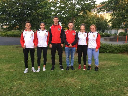 Nationalkaderathletinnen & Nationalkaderathleten (Modrey-Lamparter-Hansalek-Gril-Novak-Steiner)