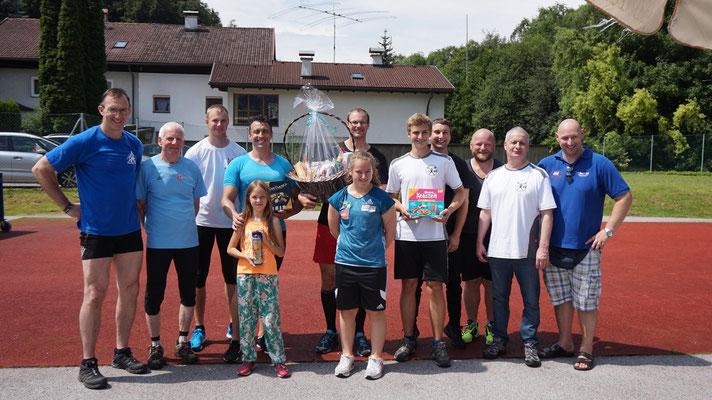 Teilnehmer Tiroler Mehrkampfmeisterschaft Allgemeine Klasse