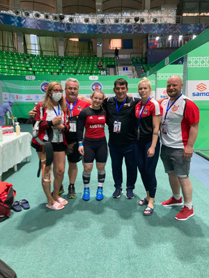 Nationalteam Österreich & Pyrros Dimas