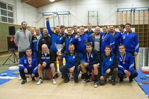 Siegerehrung Tiroler Meisterschaft mit Übergabe Landesligatitel an Bad Häring