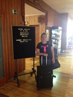 Ankunft im Hotel in Teneriffa