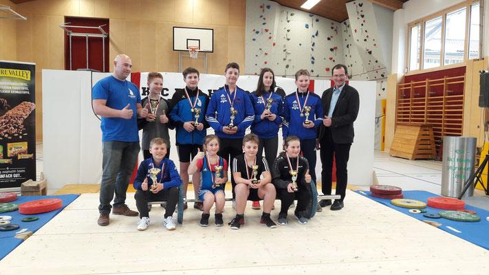 Siegerehrung Tiroler Schüler-u. Jugendmeisterschaft 2019