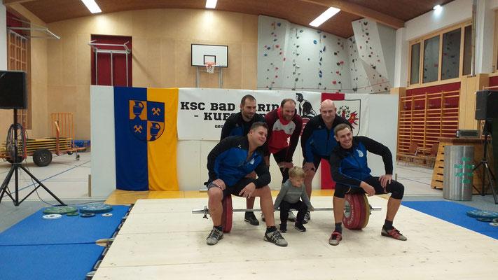 Mannschaftsphoto KSC Bad Häring/Kufstein