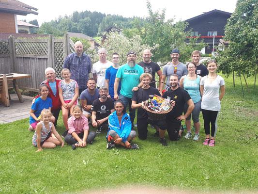 Gruppenphoto Damen & Herren Tiroler Mehrkampfmeisterschaft 2018