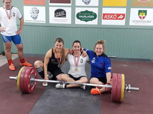 Drei starke Frauen: Lang Martina - Gasiorova Hana - Steiner Victoria