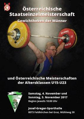 Plakat Österreichische Staatsmeisterschaft 2017