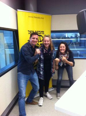 Steiner Victoria mit den Life Radio Reportern