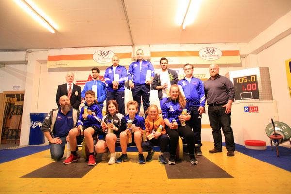 Gruppenphoto 1 Runde Tiroler Schüler-Jugend-u. Neulingscup 2017