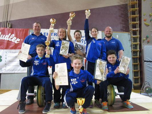 Sieg in der Mannschaftswertung für KSV-RUM