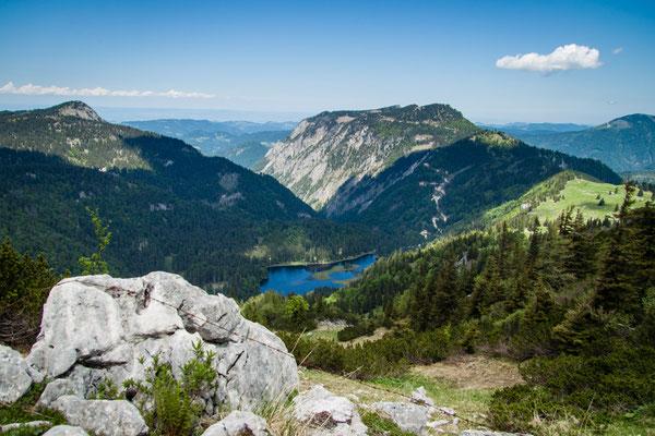 Ausgleichsmöglichkeiten beim Wandern und Schwimmen (Lunz/See)