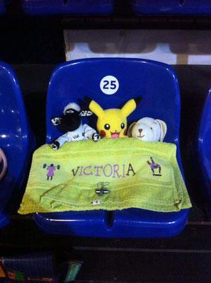 Glücksbringer für Victoria