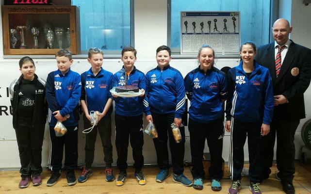 Teilnehmer 1. Runde Tiroler Schülercup 2016