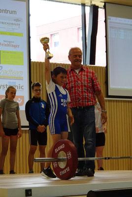 Aigner Maximilian (KSV-Rum) & Nationaltrainer Lechner Hans