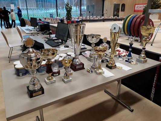 Medaillen & Pokale Klubmeisterschaft 2019