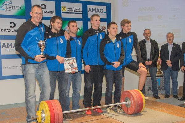 Platz 4 Bundesliga 2015 (KSC Bad Häring/Kufstein)