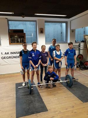 Teilnehmer 1. Runde Tiroler Schüler-u. Jugendcup 2018