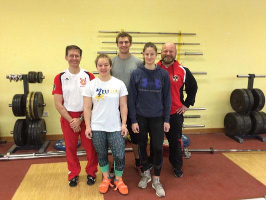 Trainer Schandl Herbert - Steiner Victoria - Ritzer Armin - Lamparter Anna - Steiner Harald
