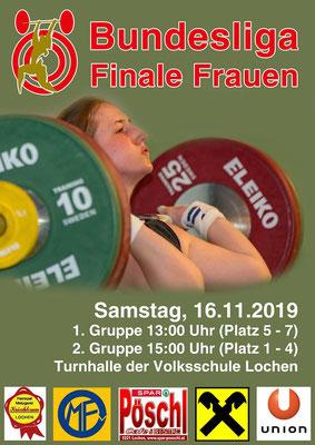 Plakat Bundesliga-Finale Frauen