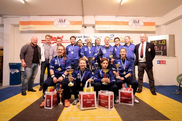 Siegerehrung Klubmeisterschaft KSV-Rum 2017