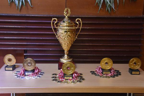 Staatsmeisterpokal 2021 & Medaillen