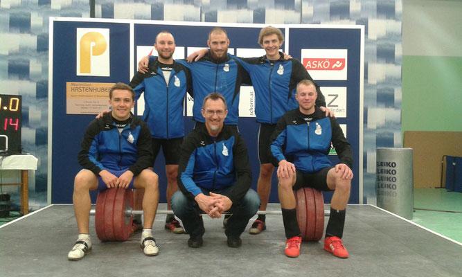 Mannschaft KSC Bad Häring/Kufstein & Betreuer Einberger Kurt