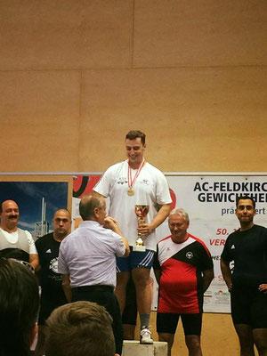 Haider Stefan (KSV-RUM) & Nationaltrainer Lechner Hans