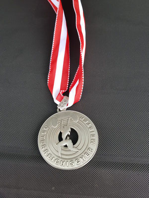 Silbermedaille Scharf Christian (AK Innsbruck)