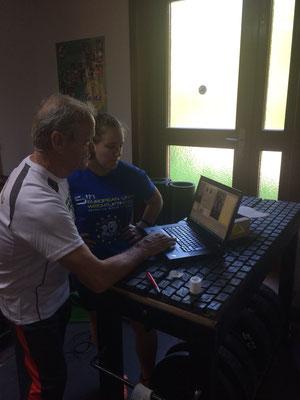 Nationaltrainer Lechner Hans & Steiner Victoria (KSV-Rum)