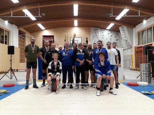 Gruppenphoto Tiroler Meisterschaft 2018 - Gruppe 2