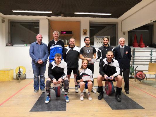 Siegerehrung Klubmeisterschaft AK Innsbruck 2019