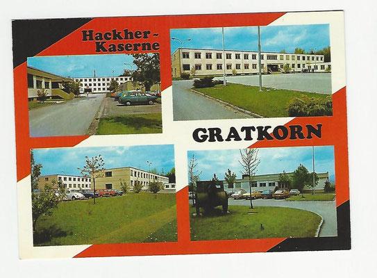Hackher-Kaserne in Gratkorn in der Steiermark