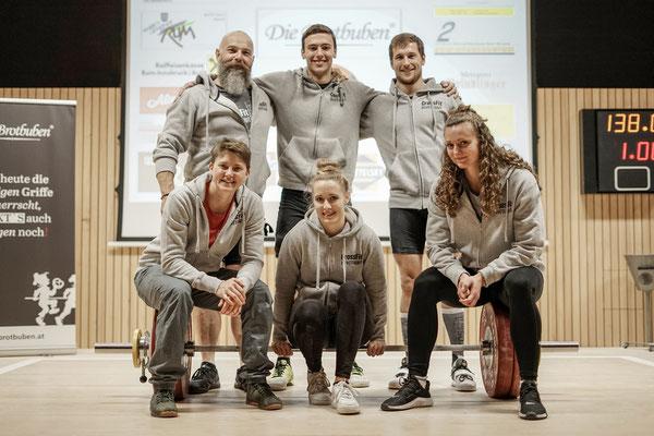 Gruppenphoto (SC Kroftlaggl/Kirchbichl)