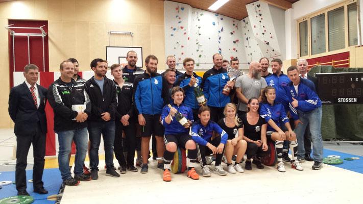 Gruppenphoto Tiroler Landesliga 2018 & Nationalliga