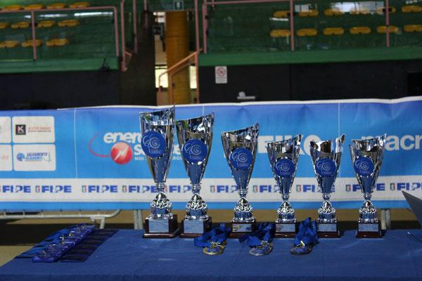 Pokale & Medaillen EU-CUP 2015 in Rom