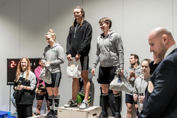 Siegerehrung Tirol-Cup 3. Runde Damen