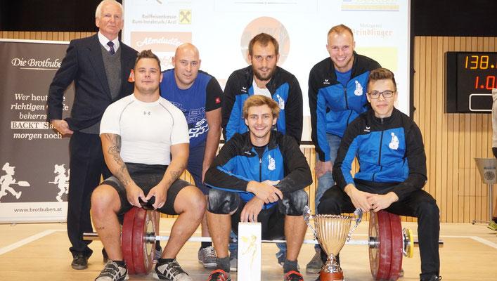 Tiroler Landesligameister 2019 (KSC Bad Häring/Kufstein)