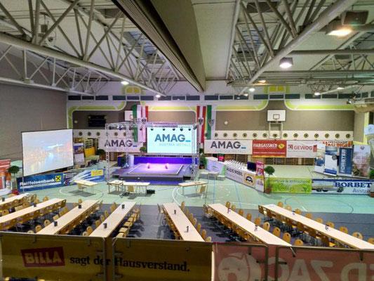 Wettkampfhalle Staatsmeisterschaft 2018