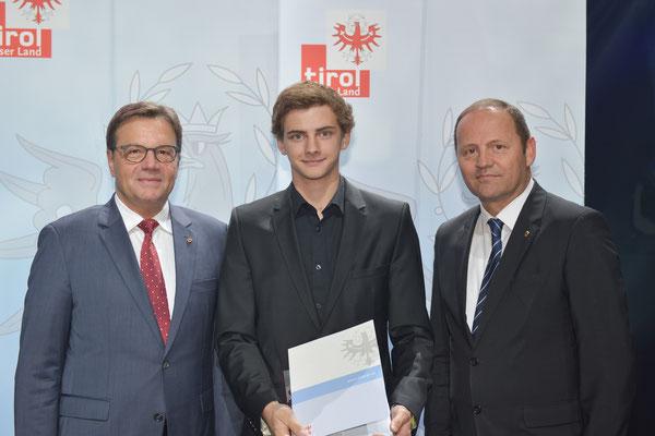 Auszeichnung Ritzer Armin (KSC Bad Häring/Kufstein)