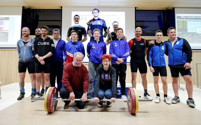 Siegerehrung Tirol-Cup Männer