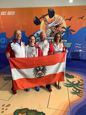 Nationaltrainer Lechner Hans - Steiner Victoria - Papa Harald und Mama Sabine