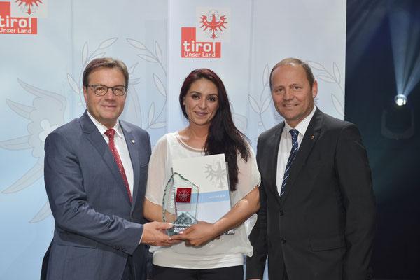 Auszeichnung Tiroler Landesmeister 2016 (KSC Bad Häring/Kufstein)