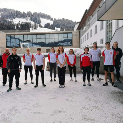 Teilnehmer(innen) ÖGV-Trainingslager Maria Alm