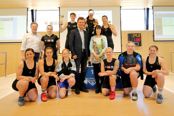 Siegerehrung Tirol-Cup Frauen